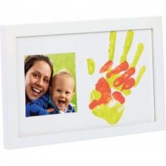 Happy Hands - Rama foto cu amprente mama si bebe Happy Hands