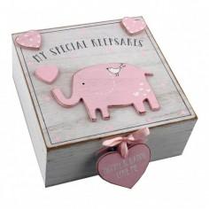 Cutiuta amintiri roz din MDF  My Special Keepbox Nespecificat