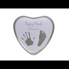 Happy Hands - Cutie in forma de inimioara pentru mulaj manuta sau piciorus Happy Hands
