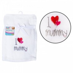 Paturica moale I love mummy First Steps