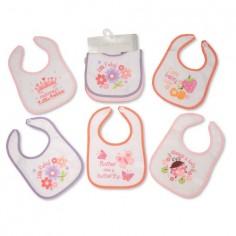 Set 5 bavete pentru fetite Nursery Time