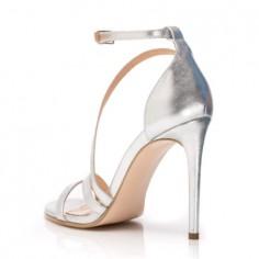 Sandale de damă Mineli Alena Silver - 34 MineliRomania