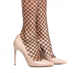 Pantofi Stiletto Mineli Bella Nude - 36 MineliRomania