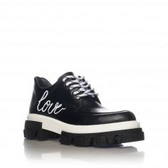 Pantofi Casual Mineli Venti Love Black - 39 MineliRomania