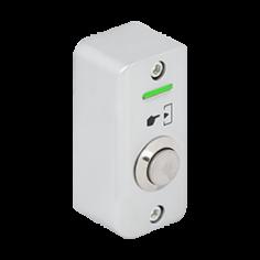 Buton de iesire aplicabil cu LED de semnalizare, din aliaj de zinc, pentru exterior, IP65 Yli