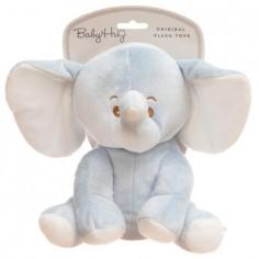 Baby Hug - Elefantel bleu din plus Baby Hug