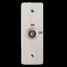 Buton de iesire incastrabil/aplicabil cu carcasa, cu cheie KY-C-SS-2 Yli