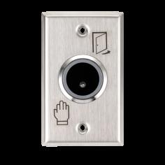 Buton de iesire incastrabil, fara atingere, 12Vcc, NO/NC, LED stare suplimentar ISK-801E Yli