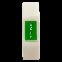 Buton de panica fosforescent aplicabil, din plastic, fara retinere 5C-65B-N Yli