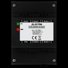 Doza derivatie video, 4 iesiri SMART - ELECTRA VCB.4DN02.ELG04 Electra