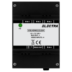 Doza selectie video, 4 intrari video SMART - ELECTRA VSB.4DN02.ELG04 Electra