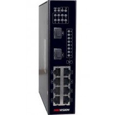 High performance industrial switch 8x, DS-3T0310P Hikvision