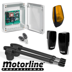 Kit automatizare poarta batanta 2x4m -MOTORLINE LINCE600-KIT MotorLine