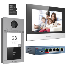 Kit wifi videointerfon compus din monitor 7