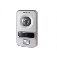 Post de exterior videointerfonie IP cu 1 buton, camera HD de 1.3MP Hikvision