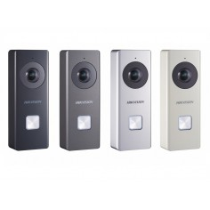 POST DE EXTERIOR WIRELESS CU CAMERA SI SONERIE Hikvision