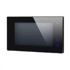 """Post de interior video cu conexiune pe 2 fire si ecran color LCD de 7"""" DT47MG-TD7-bk 2easy"""