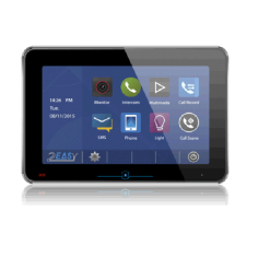 Post de interior video pe 2 fire cu touch screen, negru DT31M-TD10-bk 2easy