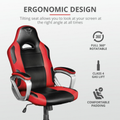 Trust GXT 705R Ryon Gaming Chair - red TRUST