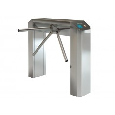 Turnichet electromecanic bidirectional, motorizat, din inox, pe doua picioare, pentru interior/exterior CASTLE UP Lotgate