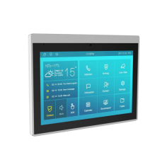 "Video interfon IP SIP, monitor 10"", Voice Assistant, Android, WiFi, bluetooth, camera video, alimentare POE IT83A Akuvox"