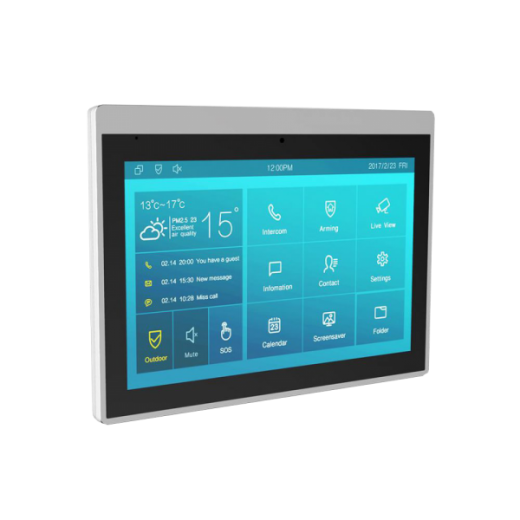"Video interfon IP SIP, monitor 10"", Voice Assistant, Android, WiFi, bluetooth, camera video, alimentare POE IT83A"