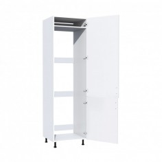 Corp pentru frigider incorporabil Zebra MDF alb drept Spectral