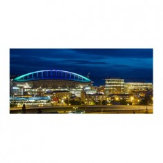 Panou bucatarie, protectie plita, aragaz, antistropire, print UV model Interstate 90 120x60 cm Decoglass