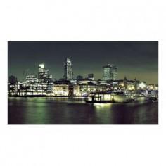 Panou bucatarie, protectie plita, aragaz, antistropire, print UV model London 125x50 cm Decoglass