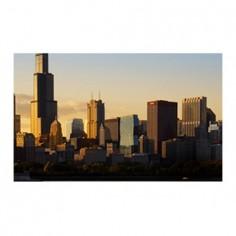 Panou bucatarie, protectie plita, aragaz, antistropire, print UV model Chicago 60x50 cm Decoglass