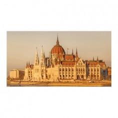 Panou decorativ, protectie plita, print UV model Parlamentul Ungar 125x50 cm Decoglass