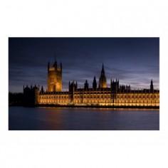 Panou bucatarie, protectie plita, aragaz, antistropire, print UV model Casa Parlamentului 90x60 cm Decoglass