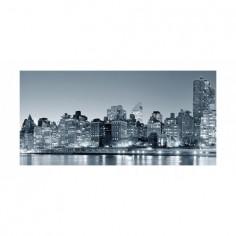 Panou bucatarie, protectie plita, aragaz, antistropire, print UV model Oras Monocromatic 60x50 cm Decoglass