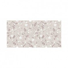 Panou bucatarie, protectie plita, aragaz, antistropire, print UV model Tapet Floral 1 60x60 cm Decoglass