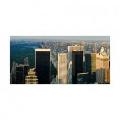 Panou bucatarie, protectie plita, aragaz, antistropire, print UV model Central Park 2 60x50 cm Decoglass