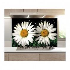 Panou bucatarie, protectie plita, aragaz, antistropire, print UV model Musatel 120x60 cm Decoglass