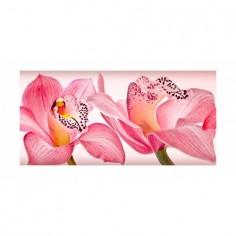 Panou bucatarie, protectie plita, aragaz, antistropire, print UV model Orhidee 19 120x60 cm Decoglass