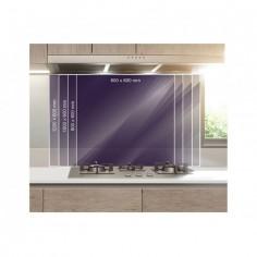 Panou bucatarie, protectie plita, aragaz, antistropire, print UV model Romburi Abstract 60x50 cm Decoglass
