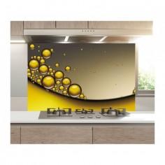 Panou bucatarie, protectie plita, aragaz, antistropire, print UV model Abstract 28 60x60 cm Decoglass
