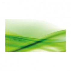 Panou bucatarie, protectie plita, aragaz, antistropire, print UV model Abstract Verde  60x60 cm Decoglass