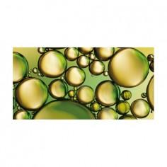 Panou bucatarie, protectie plita, aragaz, antistropire, print UV model Bule Verzi 100x50 cm Decoglass