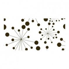 Panou bucatarie, protectie plita, aragaz, antistropire, print UV model Abstract Buline Negre 125x50 cm Decoglass