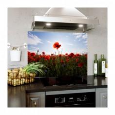 Panou decorativ bucatarie, sticla securizata, print UV Mac 90x60 cm Decoglass