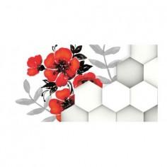 Panou bucatarie, protectie plita, aragaz, antistropire, print UV model Fundal Mac 90x60 cm Decoglass