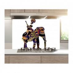 Panou bucatarie, protectie plita, aragaz, antistropire, print UV model Desen Animat 60x50 cm Decoglass