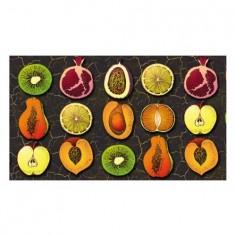 Panou bucatarie, protectie plita, aragaz, antistropire, print UV model Fructe  60x60 cm Decoglass