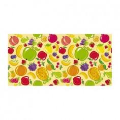 Panou bucatarie, protectie plita, aragaz, antistropire, print UV model Desen Fructe 120x60 cm Decoglass