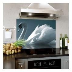 Panou bucatarie, protectie plita, aragaz, antistropire, print UV model Imagine Oglinda in Apa 125x50 cm Decoglass