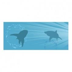 Panou decorativ bucatarie,sticla securizata, protectie plita, print UV Desen Rechini 125x50 cm Decoglass