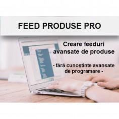 Feed produse PRO - creare feed LISAL